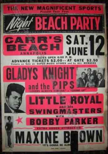 Carr's Beach poster