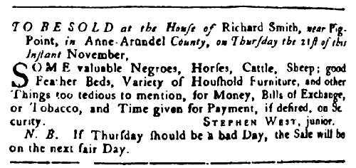 November 6, 1751
