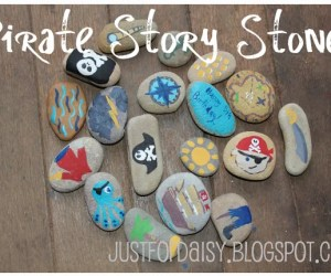 Pirate Story Stones - Pirate Activities for Kids
