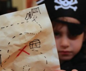 Backyard Treasure Map - Pirate Activities for Kids