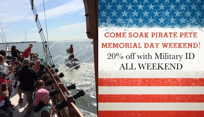 Pirate adventures on the chesapeake set sail in search for Memorial day weekend ideas