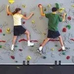 birthday party places for kids - climbing walls