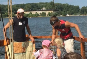 Labor Day Fun with the kids at Pirate Adventures