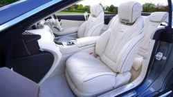 cream leather seat covers