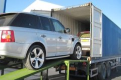 car to the container van