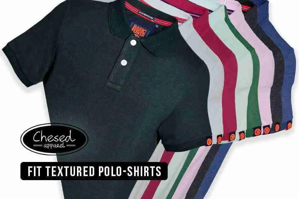 Basic Power Blank Polo-Shirts