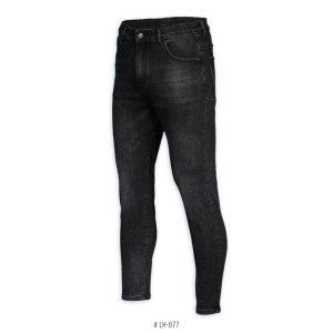 <b>SKINNY STRETCH JEANS</b> <br>LH-077 | Black