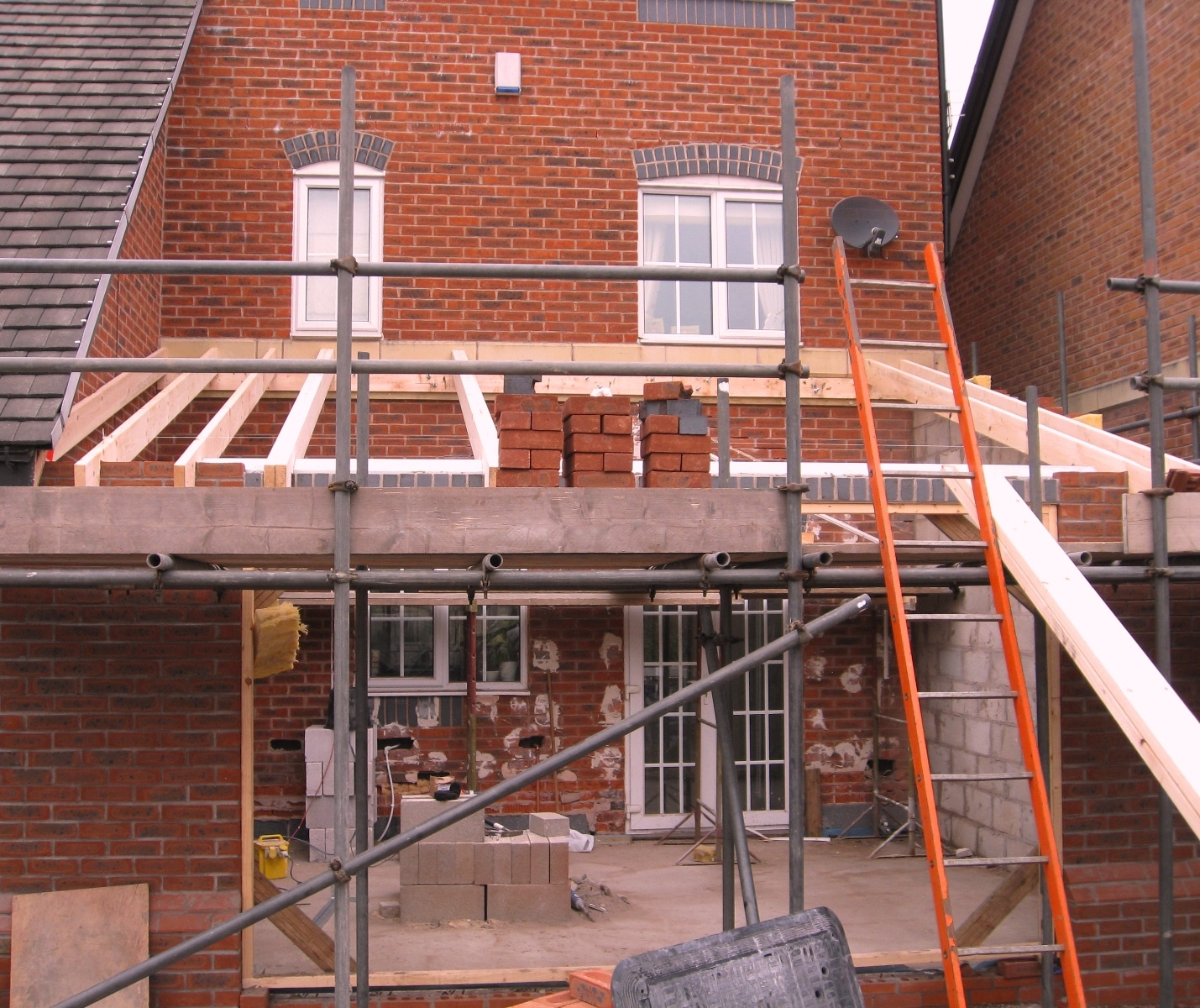 House Extension single storey with Bifold doors  Velux  Lymm Cheshire  Transforming Homes