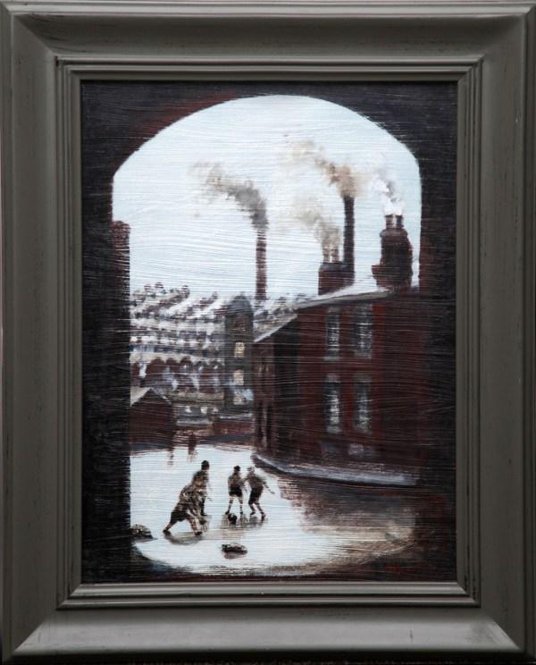 Atherton David Barrow - Rain Cheshire Art