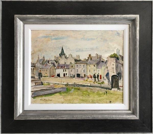 David Barrow - Smokey Town Sold Cheshire Art