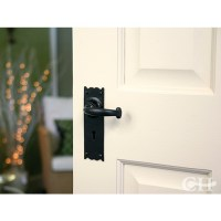 From The Anvil 73106 Cottage Lever Handles on Keyhole Lock ...