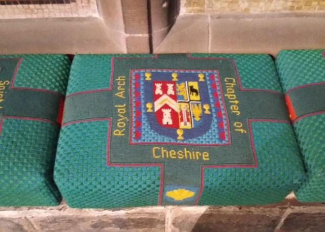 hassock-showing-cheshire-royal-arch-freemasonry-at-chester-cathedral-hassock-number-2450