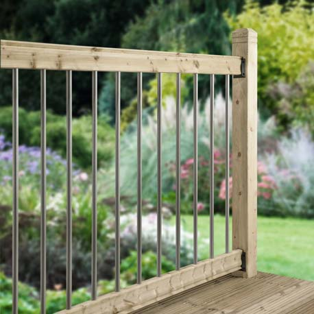 Deck Railing Kits Decking Banisters And Balustrades