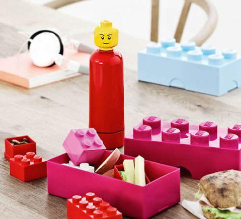 Lego Lunchbox & Lego Drinking Bottle