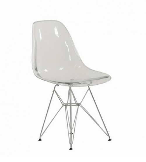 DSR REPLICA DINING CHAIR CLEAR