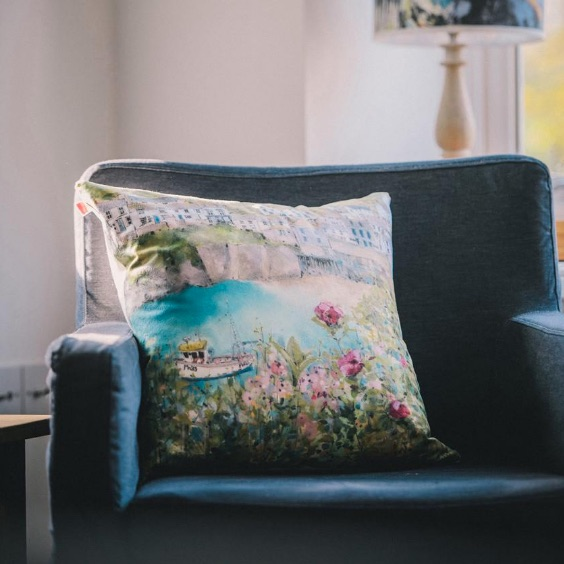 Cliffside Gallery Cushions From Northcliffe