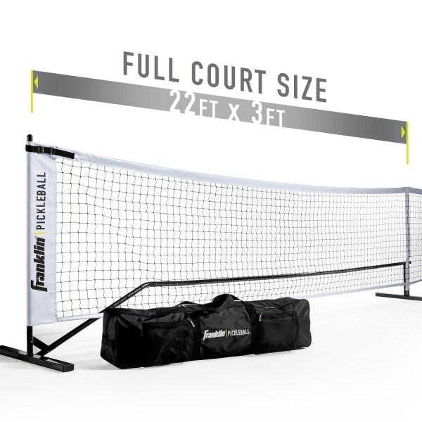 Franklin Picklebal officieel net met palen | ook geschikt voor tennis
