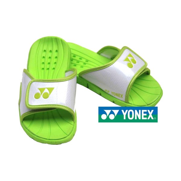 Yonex slippers | Wit/Lime | Maat 39-42
