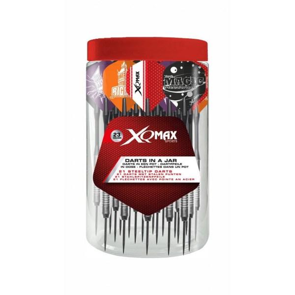 XQ-Max pot dartpijlen - 21 stuks