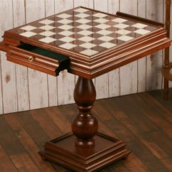 Chess Table And Chairs Swivel Chair Hong Kong The Best Most Impressive Tables Of 2019 23 5 Alabaster Opened Drawers