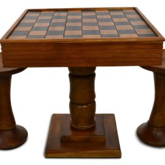 Chess Table And Chairs Folding Chair B&m The Best Most Impressive Tables Of 2019 Megachess Teak Giant With 4 Inch Squares