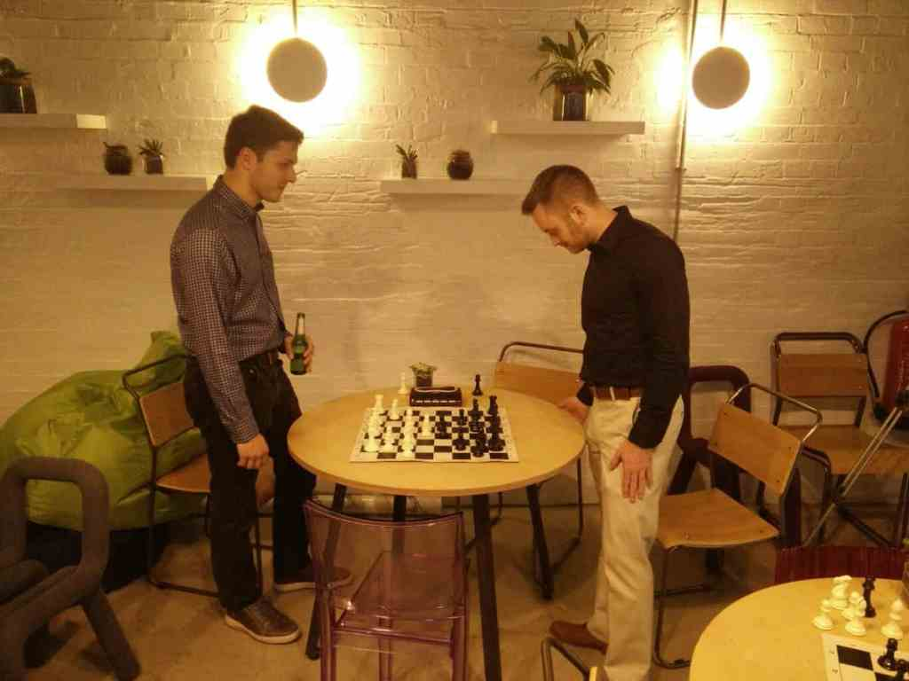 Chessable's co-founders face off!