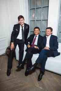 Sergey Karjakin at the launch of the Moscow Grand Prix, with Fide president Kirsan Ilyumzhinov