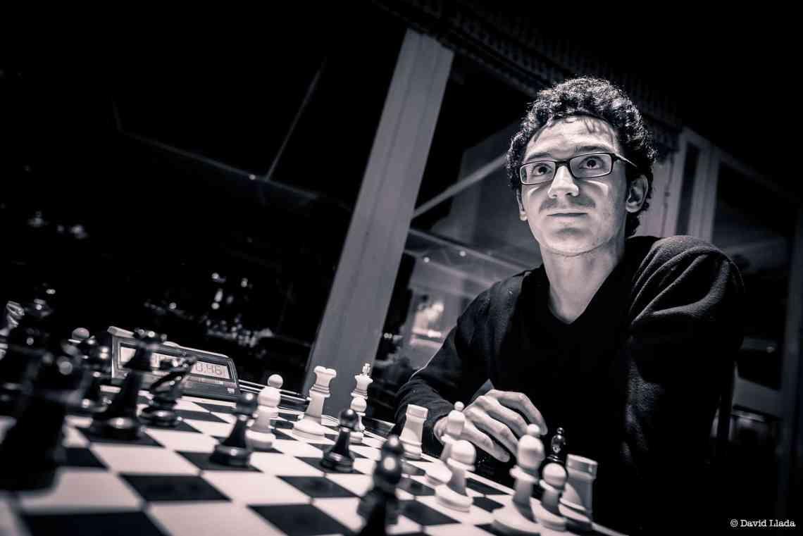 Fabiano Caruana is the challenger. Photo credit: DAVID LLADA