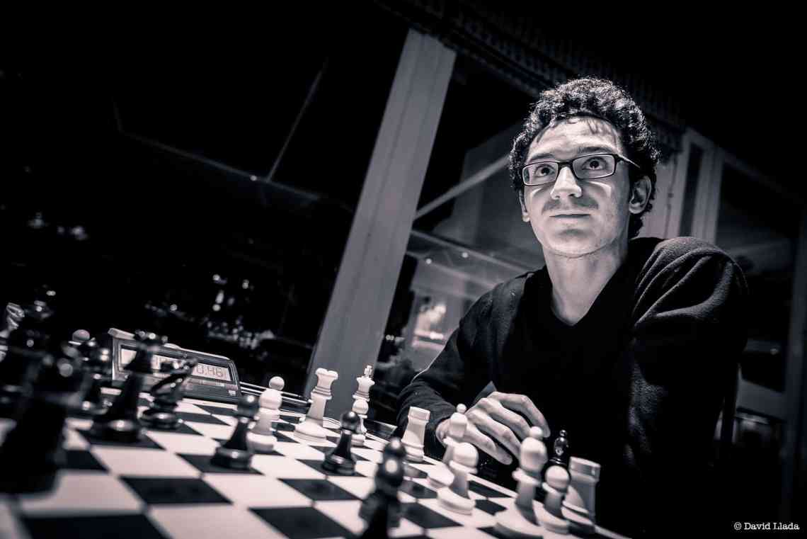 Fabiano Caruana is the challenger. Photo credit: DAVID LLADA