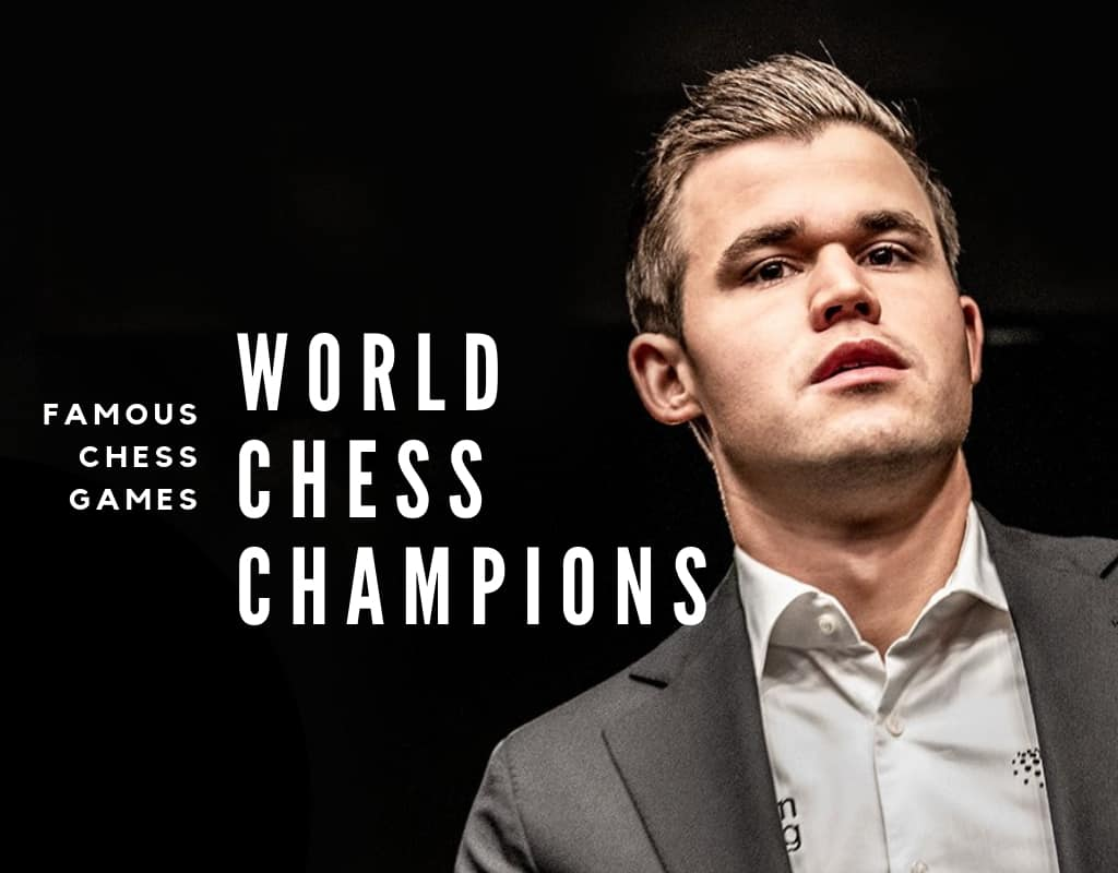 Magnus Carlsen with text overlay