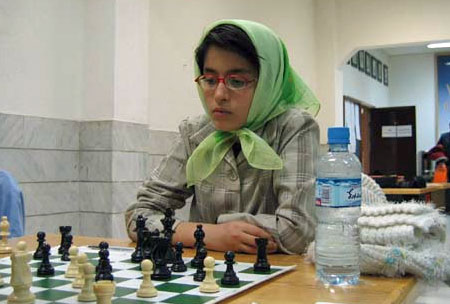 A rising Iranian chess star Ghazal Hakimifard, who is only 12 years old, also competed.