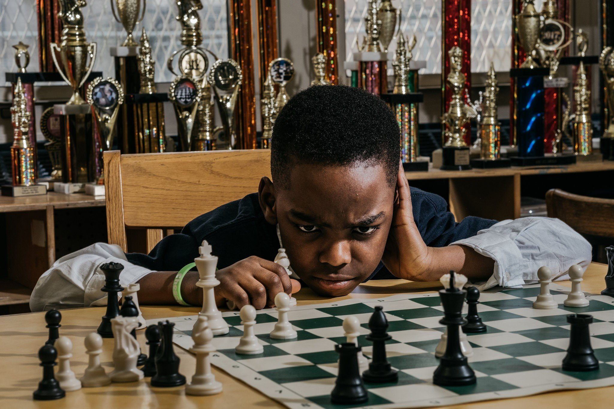 An 8 Year Old Refuge Is The K 3 New York Chess Champion