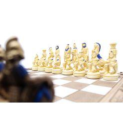 ARMA 陶器のチェスセット レオニダス 31cm 青 6