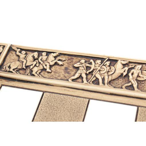 ARMA 陶器のチェスセット トロイア戦争 31cm 4