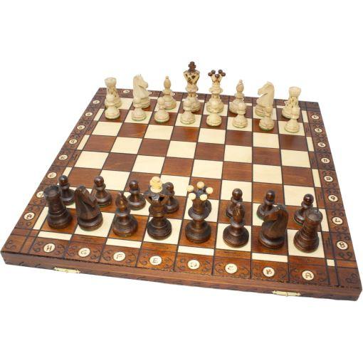 Wegiel 木製チェスセット アンバサダー 52cm 1