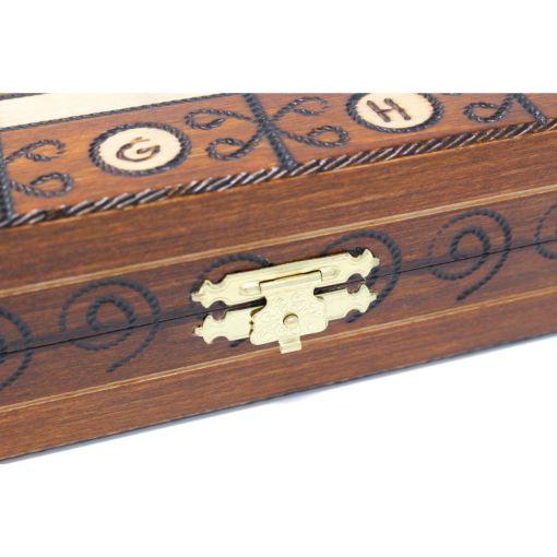 Wegiel 木製チェスセット アンバサダー 52cm 4