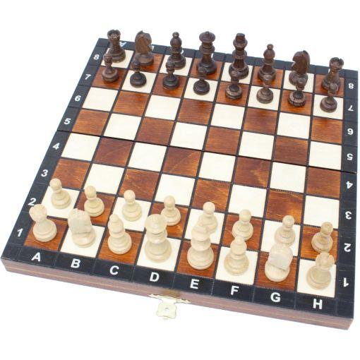 Wegiel 木製チェスセット マグネティック 27cm 10