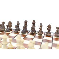 Wegiel 木製チェスセット マグネティック 27cm 12