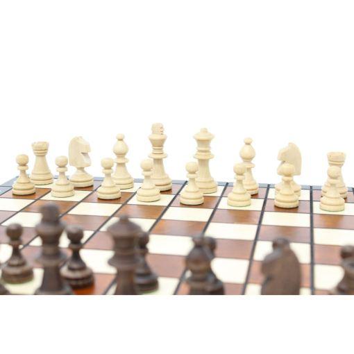 Wegiel 木製チェスセット マグネティック 27cm 7