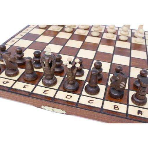 Wegiel 木製チェスセット ロイヤル 35cm 7