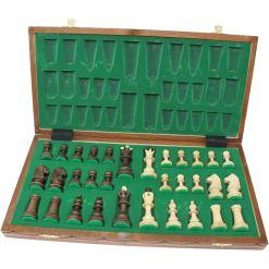 Wegiel 木製チェスセット セネター 41cm 5