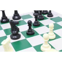 チェスジャパン スタンダードチェスセット ナショナル 43cm グリーン 14