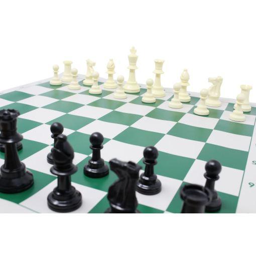チェスジャパン スタンダードチェスセット ワールド 51cm グリーン 12