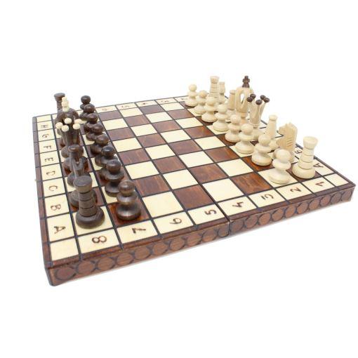 Wegiel 木製チェスセット ロイヤル 30cm 10