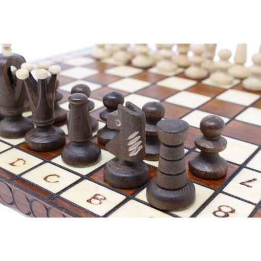 Wegiel 木製チェスセット ロイヤル 30cm 13