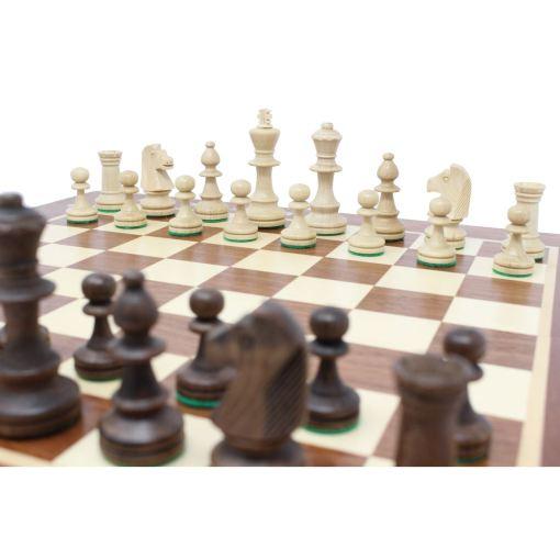 Wegiel 木製チェスセット トーナメントNo.4 41cm 13