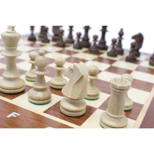 Wegiel 木製チェスセット トーナメントNo.4 41cm 6