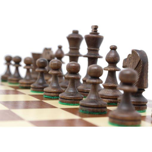 Wegiel 木製チェスセット トーナメントNo.4 41cm 9