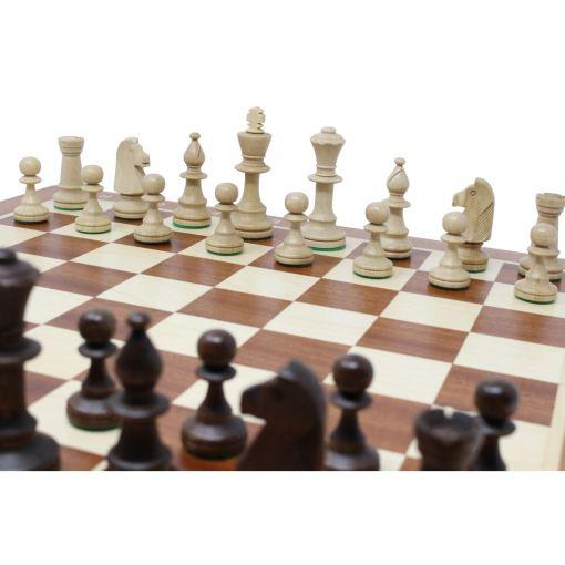 Wegiel 木製チェスセット トーナメントNo.5 47cm 13