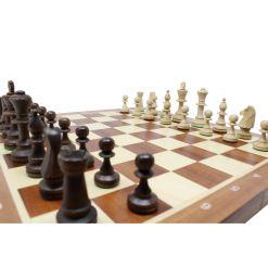 Wegiel 木製チェスセット トーナメントNo.5 47cm 14